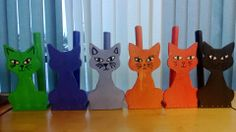 Talouspaperirullatelineet Wood Dog, Wooden Cat, Diy For Kids, Crafts For Kids, Arts And Crafts, Craft Stick Crafts, Diy Crafts, Wood And Metal, Elementary Schools