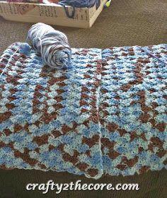 ~Crochet Shell Blanket~FREE PATTERN