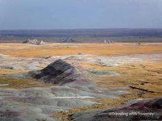The Badlands, South Dakota  Love these harsh landscapes.
