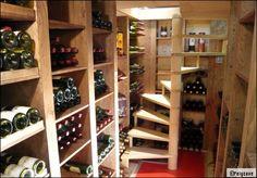 Aménager une cave à vin chez soi   Cave, Wine cellars and Construction