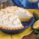 Buttermilk Lemon Pie--looks like a delicious use of buttermilk!