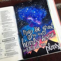 Bible Journaling by @ribbonzncurlz                                                                                                                                                     More
