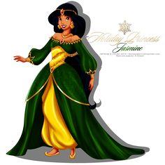 Holiday Princess Doll - Jasmine by selinmarsou on DeviantArt