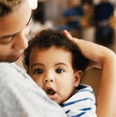 Beyonce and Blue Ivy LISTEN TO BLUE by beyonce u will LOVE IT!!