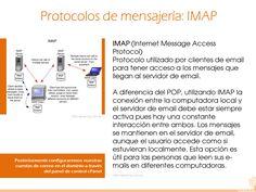 18 Más información: http://es.kioskea.net/contents/279-protocolos-de-mensajeria-smtp-pop3-e-imap4 http://www.informatica-hoy.com.ar/aprender-informatica/Que-es-SMTP-POP-e-IMAP.php