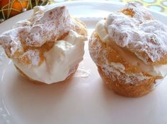 Melt-in-your-mouth homemade cream puffs