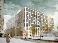 Schenker Salvi Weber Architekten, feld72 — Neue Zentrale der Österreichischen Post AG, am Rochusmarkt