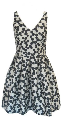 549117f8c7 Taylor Dresses Polka Dot Fit   Flare Dress (22W)