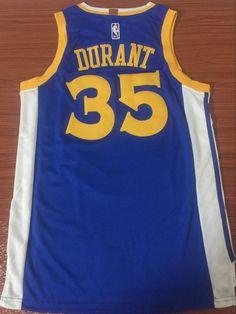 Men GSW 35 Kevin Durant Jersey Blue Golden State Warriors Swingman Fanatics  Kyrie Irving Celtics 6f9bb4043