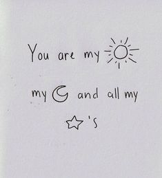 ".honestly this confused the hell out of me..i thought it was ""you are my sunshine my only sunshine you make me happy all night and day.."" but..no"