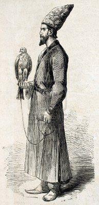 Persian falconer