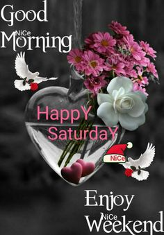 Good morning wishes! Did you talk about breakfast in the morning? Would you like to have a good morning care last night? Good Morning Happy Saturday, Good Morning Gif, Good Morning Flowers, Good Morning Wishes, Beautiful Morning, Morning Images, Good Morning Quotes, Happy Wednesday Pictures, Happy Weekend Quotes