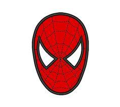 SPIDERMAN Stickerei Design Spiderman Applique von StitchAndDesigns