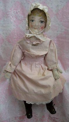"VC5931GC: 24"" Folk Art Doll - Dolls And Lace.com"