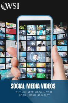 Videos deliver a much higher response rate and create better-informed customers. Here are some of the top reasons why you need video in your social media strategy Online Marketing, Social Media Marketing, Digital Marketing, Social Media Video, Business Tips, Infographics, Ads, Education, Videos