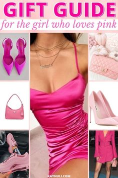 These are the amazing cheap gifts for her. She will love these pink gifts. Pink shades, pink aesthetic, pink aesthetic wallpaper, pink bag outfit, pink bag aesthetic, pink dress outfit, pink outfits aesthetic, pink outfits black girl, pink gift basket ideas, pink gift box ideas, pink gift ideas, gift ideas for girlfriend, gift guide for her, gift for her, gift guide for her 2020, gift guide 2020 #Pink #GiftGuide