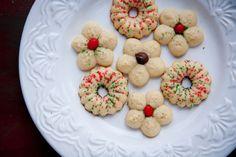 Vanilla Caradamom Spritz Cookies Recipe (Back to Her Roots)