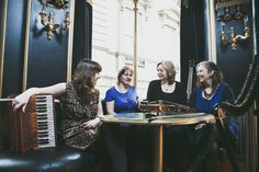 THE POOZIES. Sally Barker, Mary Macmaster, Eilidh Shaw, Mairearad Green. 24th March - 7:30pm. 'imaginative and polishedd' fRoots. In association with The Black Swan Folk Club
