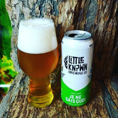 """From Little Kn?wn Brewing a collaborative beer between Flying Monkeys Craft Brewery and 49th Parallel Group comes their """"Je Ne Sais Quoi"""" a Session IPA.   http://wp.me/p2vssO-ewp"""