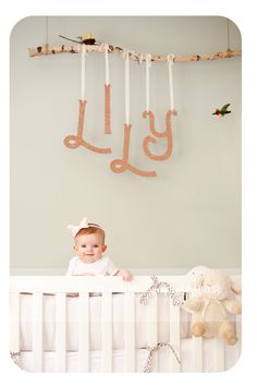 Love the way they hung the letters! Get your letters at www.funkyletterboutique.com