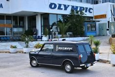 Mini van Olympic Airways Classic Mini, Vans Classic, Olympic Airlines, Aircraft Pictures, Jet Plane, Athens, Race Cars, Olympics, Greece