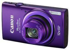 Canon Power Shot ELPH 340 HS 16MP Digital Camera (Purple) Canon