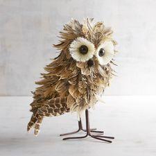 Skyler the Natural Feather Owl