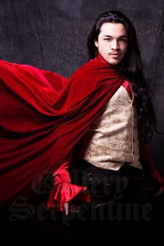 Beautiful full length, full hood velvet cloaks are now available in jewel colours like red, purple and black.