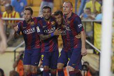 Las mejores imágenes del Villarreal-Barça