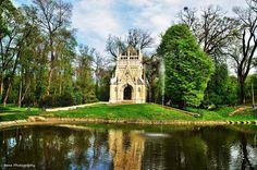 Trebišov- Mauzóleum Andrássyovcov- Slovakia Notre Dame, Mansions, Park, Tv, House Styles, Building, Travel, Decor, Mansion Houses