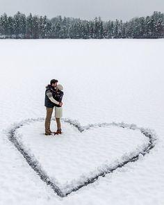 Snow in love ☃ Indian Lake  // Photography by Kiel James Patrick (kjp)