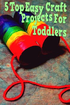 5 Top Easy Craft Projects For Toddlers Does your kid love to play with those…