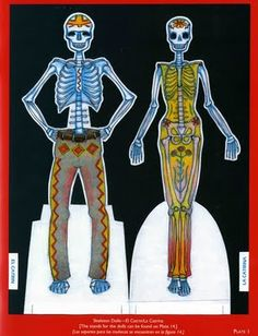 The Paper Collector: Day of the Dead Paper Dolls