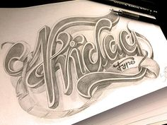 Sketch: Amazing typography by  Marcelo Schultz