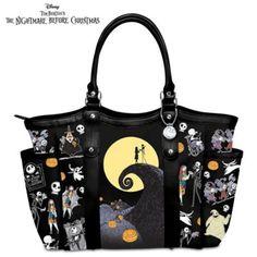 Jacks Outlet Leopard Print Chevrons on Black Sports Bag