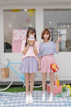 Korean Fashion KPOP Inspired, Outfits Street Style for Boys/Girls Korean Fashion Kpop Inspired Outfits, Korean Fashion Street Casual, Korean Outfits, Asian Fashion, Fashion Outfits, Pastel Fashion, Kawaii Fashion, Cute Fashion, Ulzzang Fashion