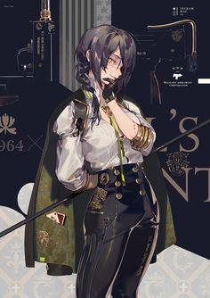 """Anni Commemorative Models"""" / Illustration by """"零@通販始めた"""" [pixiv] Female Character Design, Character Design Inspiration, Character Concept, Character Art, Concept Art, Character Outfits, Anime Art Girl, Manga Art, Anime Guys"""