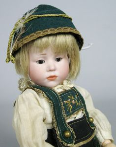Rare Kammer Reinhardt Glass Eyes Peter 101 Antique Doll