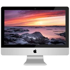 "Apple iMac MD093LL/A Intel Core i5-3335S X4 2.7GHz 8GB 1TB DVD+/-RW 21.5"", Silver (Refurbished)"