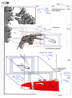 Living Lines Library: Afro Samurai (TV Mini-Series, 2007– ) - Storyboards