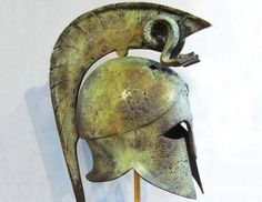 Spartan Helmet from Hellenic-Art Learn More at http://www.hellenic-art.com/