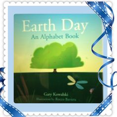 GO GREEN!  Learn the ABC's of Earth Day.  Here is a perfect book for Earth Day. Read to your #kids and enjoy. Wishing you Sunshine and SunnyDaz4U.blogspot.com