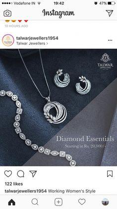 f8e2da996962e 92 Best Diamond jewellery images in 2019 | Diamond jewellery ...