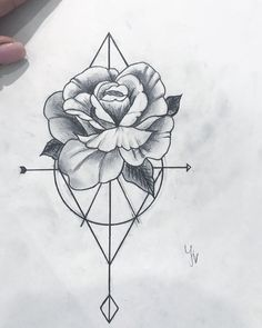rosenskizze tattoo tattoosketch tattooideas tattoostyle tattoomodel tatt