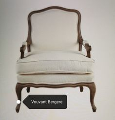 Decor, Furniture, Accent Chairs, Bergere, Chair, Home Decor
