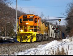 RailPictures.Net Photo: NECR 3317 New England Central EMD SD40T-2 at Palmer, Massachusetts by Andrew Wedge