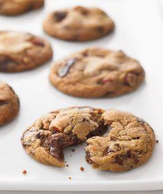 Chocolate Chunk and Almond Cookies