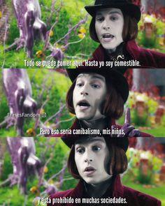 Tim Burton Frases, Johnny Depp Willy Wonka, John Deep, Arthas Menethil, Johnny Depp Images, Charlie Chocolate Factory, Childhood Characters, Eleven Stranger Things, Beautiful Boys