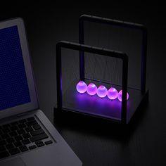 LED入りでとってもキレイなえっと、ニュートンのあれ | ギズモード | Antenna|Antenna