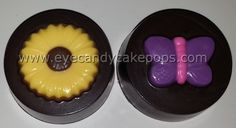 Flower and Butterfly chocolate covered Oreos®